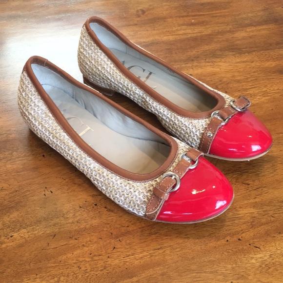 cc4740fe41f69 Attilio Giusti Leombruni Shoes | Agl Cap Toe Ballet Flat | Poshmark